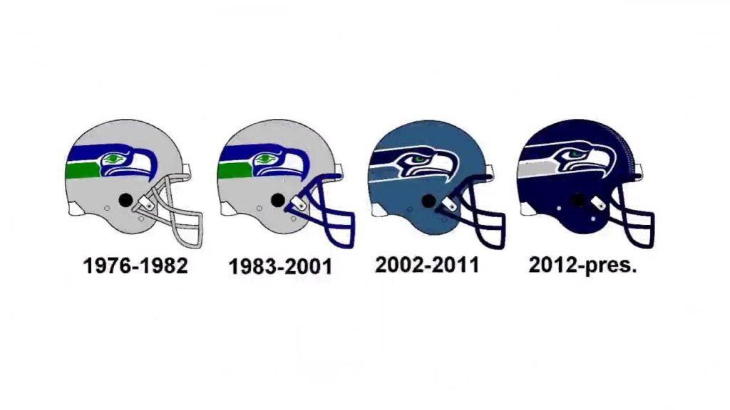 Seahawks Helmets | Seattle Seahawks Helmets History