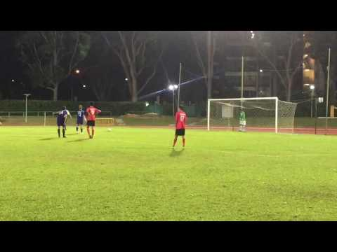 A first somersault penalty goal by Yishun Sentek Mariners in FA cup in Singapore