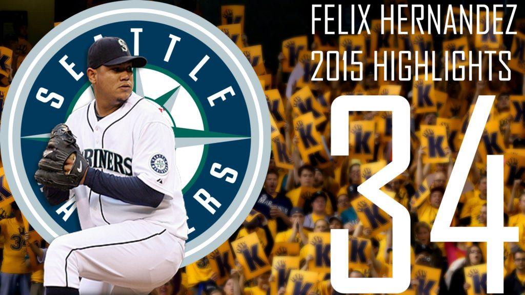"Felix Hernandez ""The King""   Seattle Mariners   2015 Highlights Mix   HD"