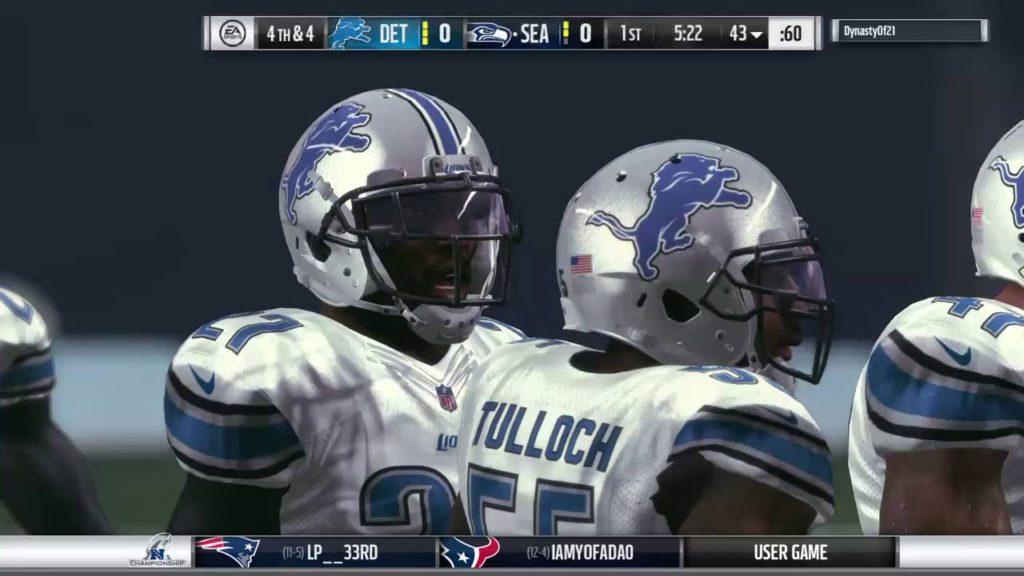 Lions vs Seahawks NFC Championship