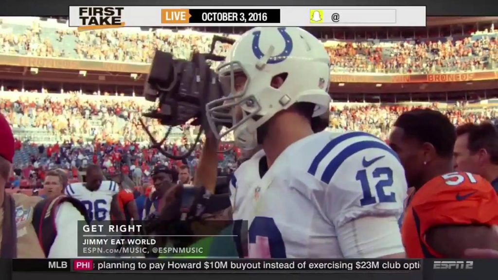 98 ESPN First Take Today 10 3 2016   Seattle Seahawks Defeat New York Jets