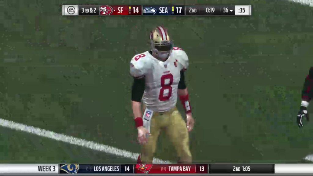 Madden NFL 17 My Career: QB Gunner Schuster S1 G3 at Seattle Seahawks