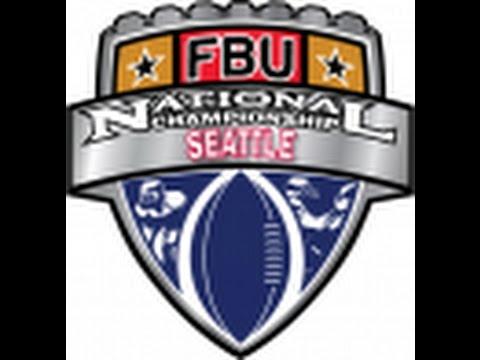 FBU Oregon vs. Team Seattle 7th 2015