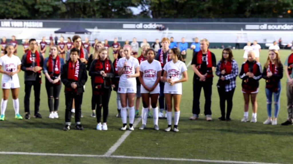 2016 Seattle Academy Fall Mania National Anthem