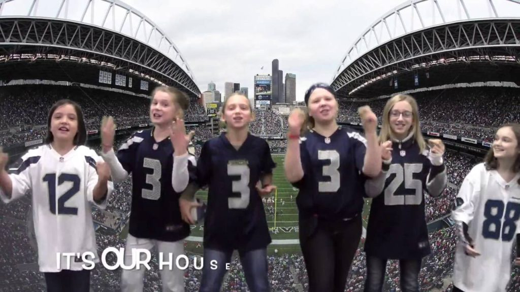 Welcome To Our House (Seahawks version!)