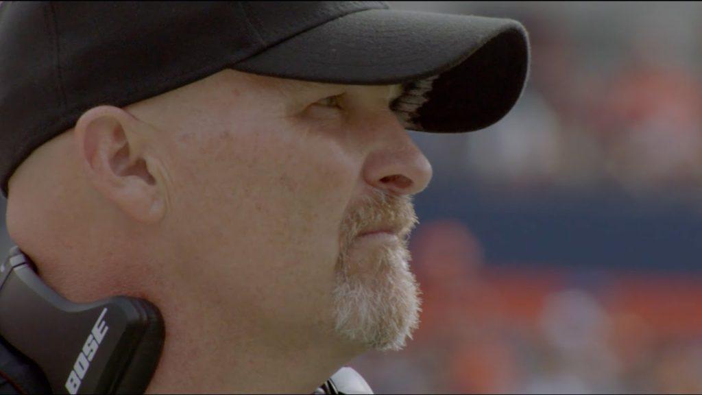 Falcons Head Coach Dan Quinn Returns to Seattle
