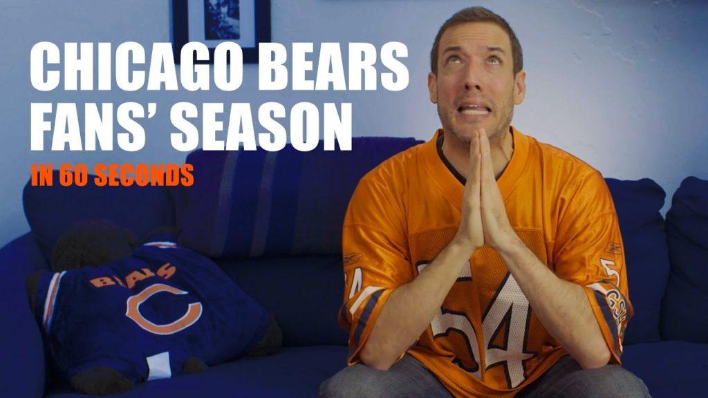 Chicago Bears Fans' Season in 60 Seconds