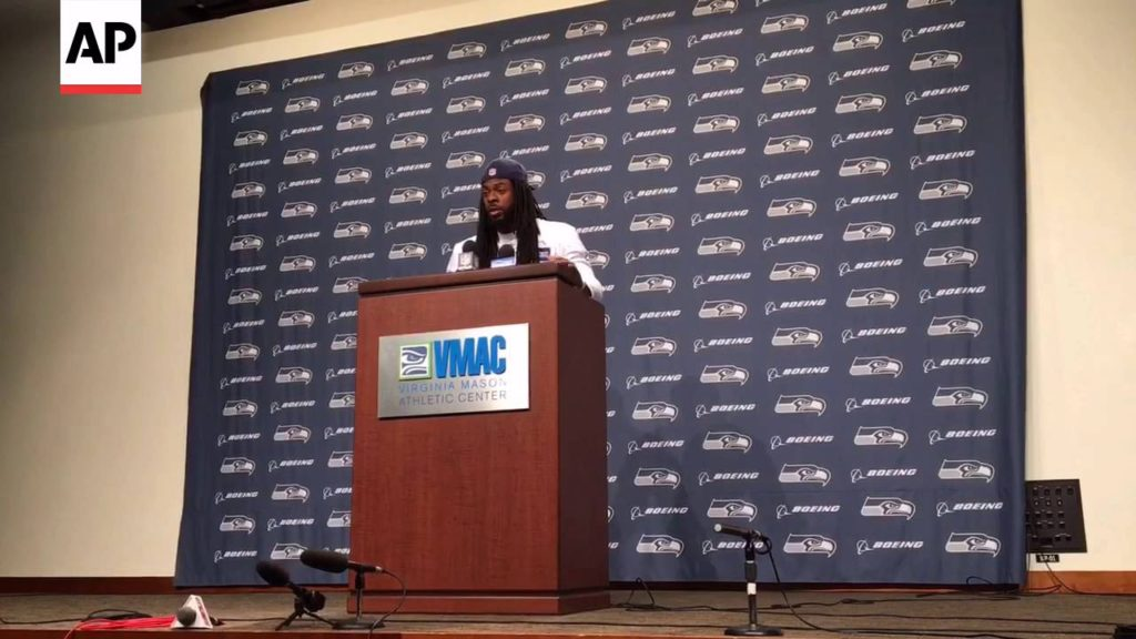 Richard Sherman Wants Fans To Get The NFL Anthem Protesters' Message