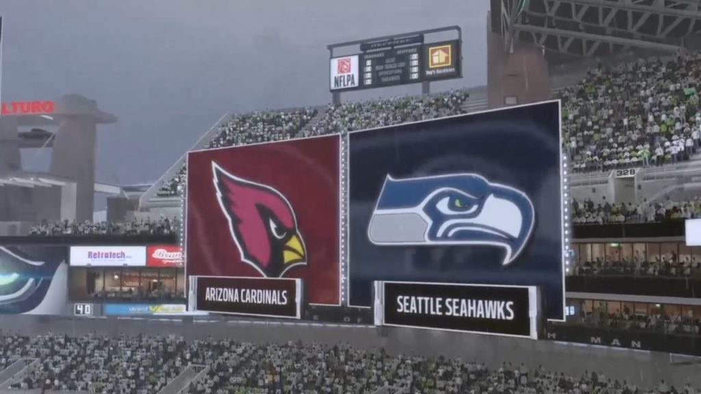 GAME OF THE YEAR   Seahawks Franchise   Madden 17 vs. Cardinals