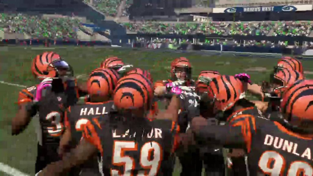 Bengals vs. Seahawks