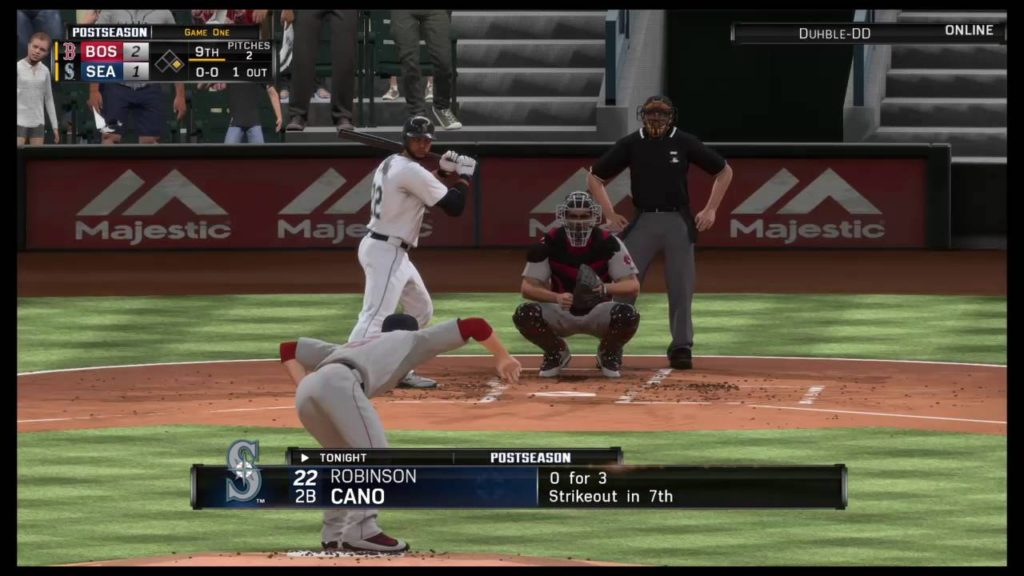 ALDS game 1 RedSox vs Mariners (part 4)