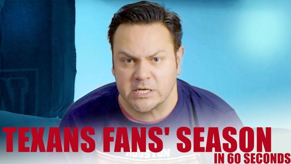 Texans Fans' Season In 60 Seconds