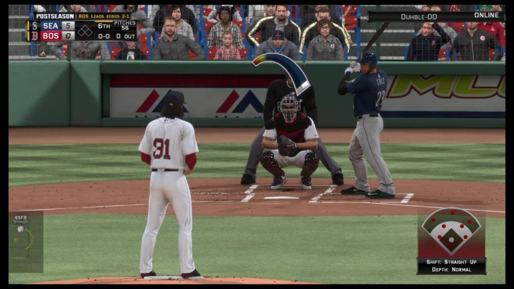 ALDS game 4 RedSox vs Mariners (part 2)