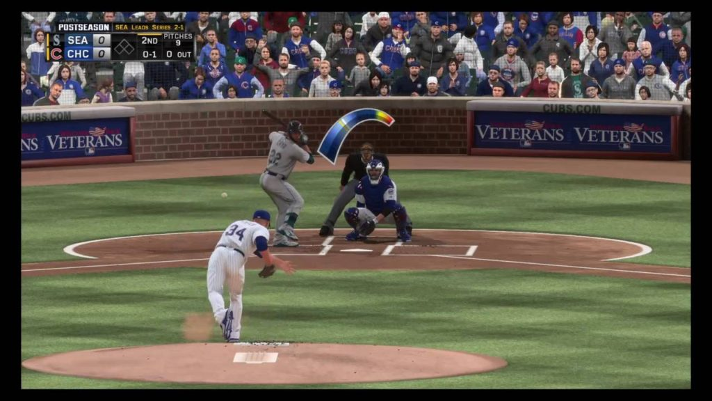 MLB: The Show 16 2016 World Series Game 4: Mariners (84-78) @ Cubs(96-66)