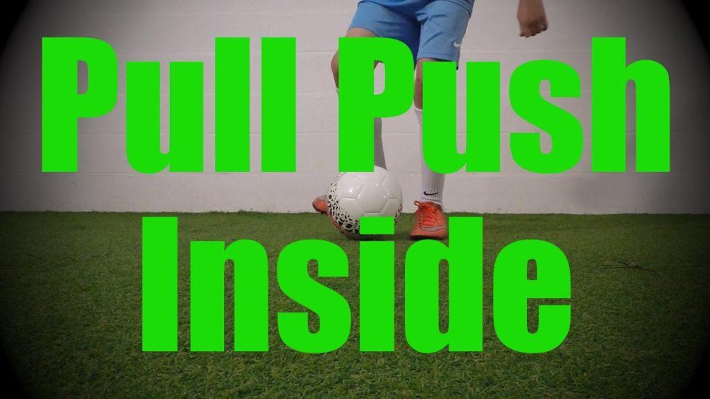 Pull Push Inside – Static Ball Control Drills – Soccer (Football) Coerver Training for U8-U9