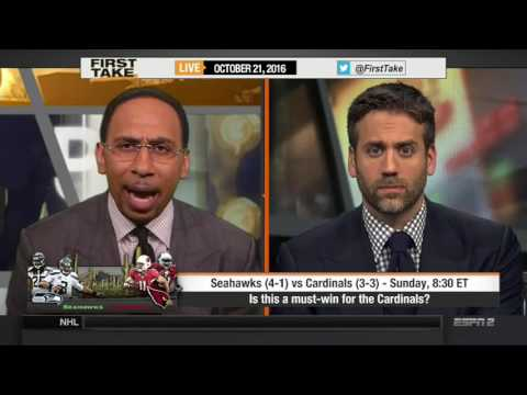 ESPN FIRST TAKE (10/21/2016) SEATTLE SEAHAWKS VS  ARIZONA CARDINALS