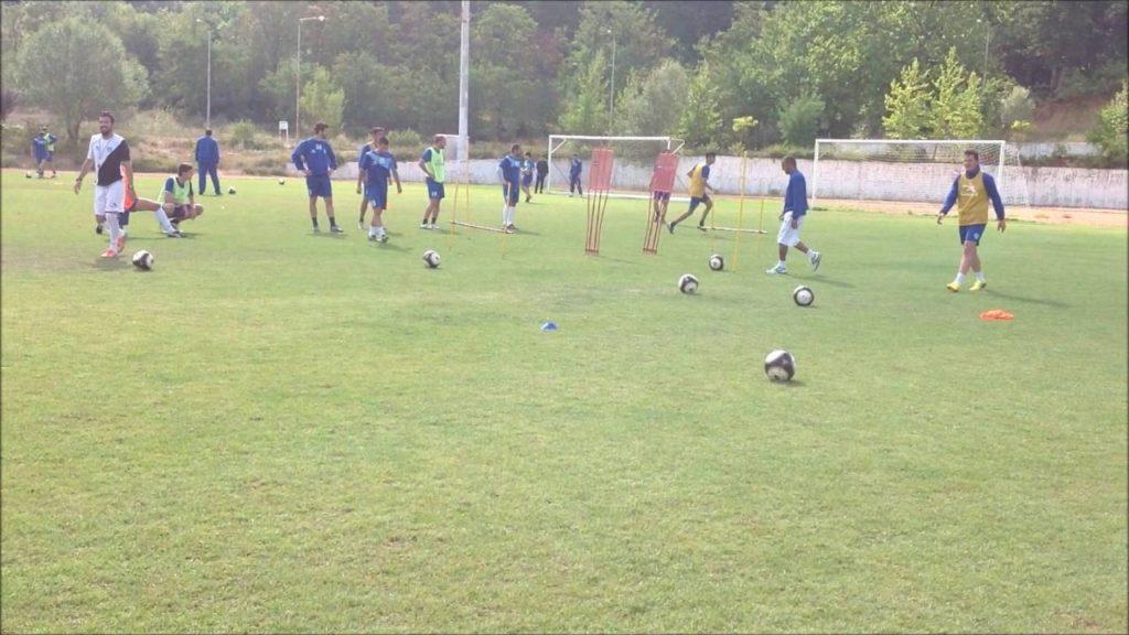 Soccer exercises by Luciano De Souza & Christos Lazaridis