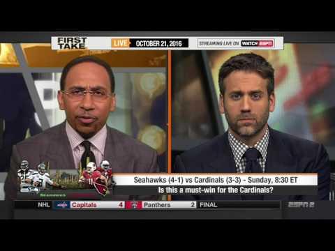 ESPN FIRST TAKE (10/21/2016) SEATTLE SEAHAWKS VS. ARIZONA CARDINALS
