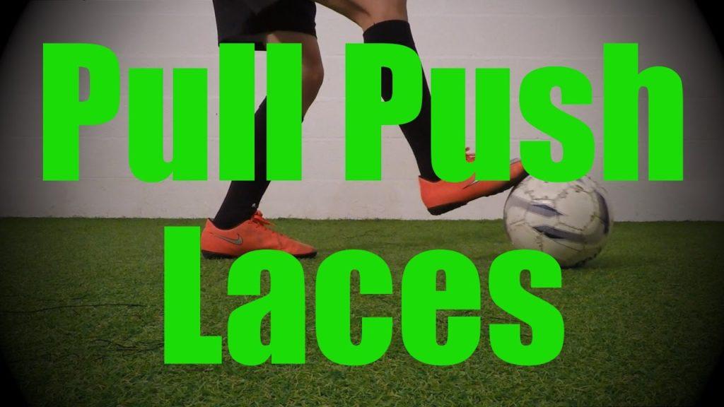 Pull Push Laces – Static Ball Control Drills – Soccer (Football) Coerver Training for U8-U9