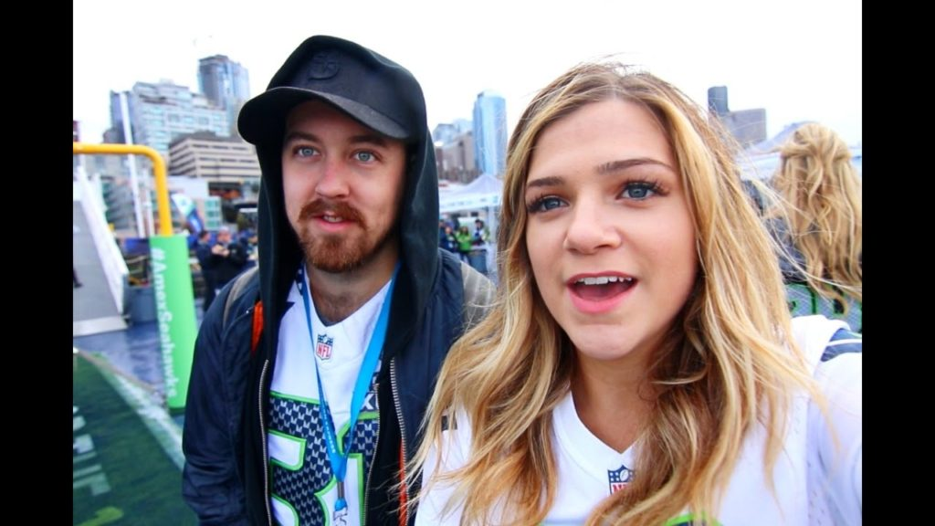 Hanging Out With The Seahawks