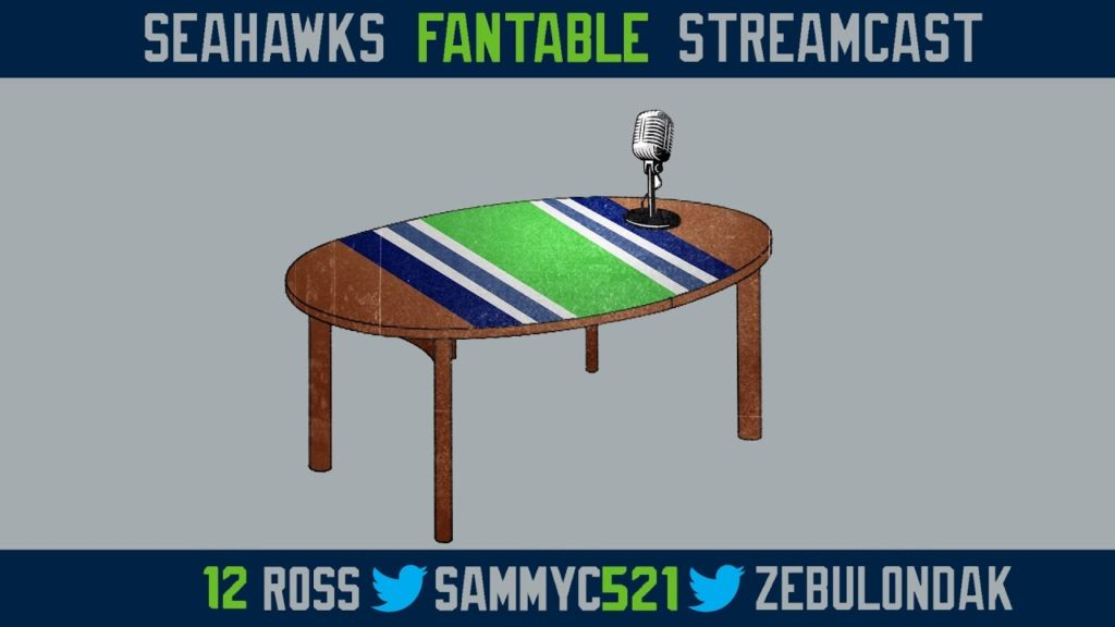 Seahawks FanTable Steamcast 10-19-16 #106
