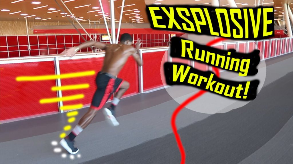 How To Become More Explosive at Running: Killer Gym Workout!