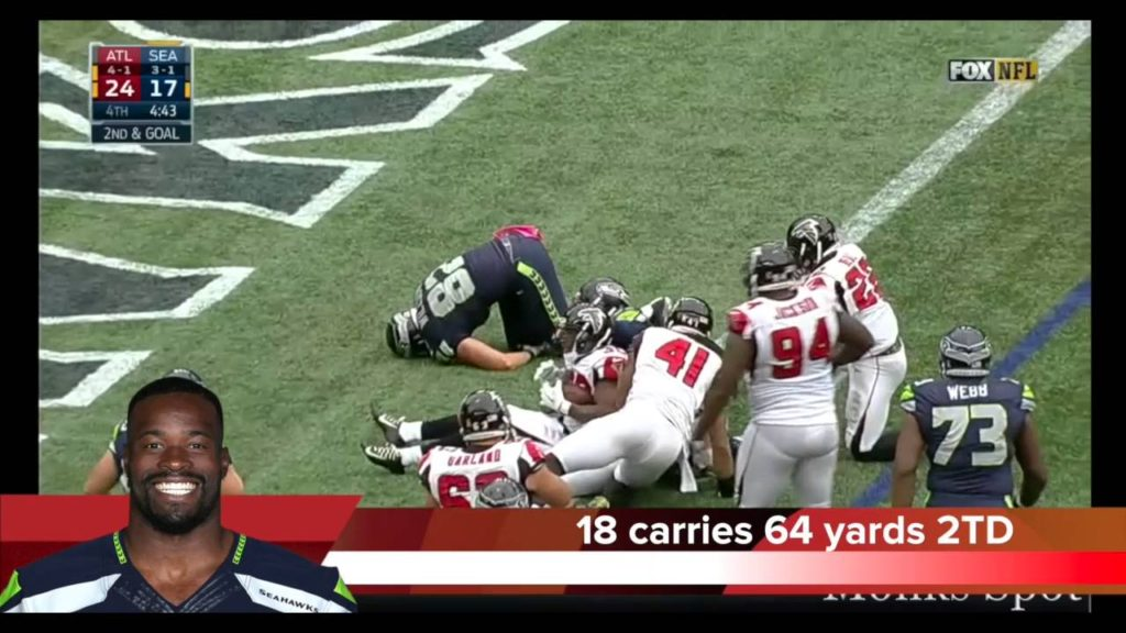 Highlights: Seattle Seahawks vs. Atlanta Falcons Week 6