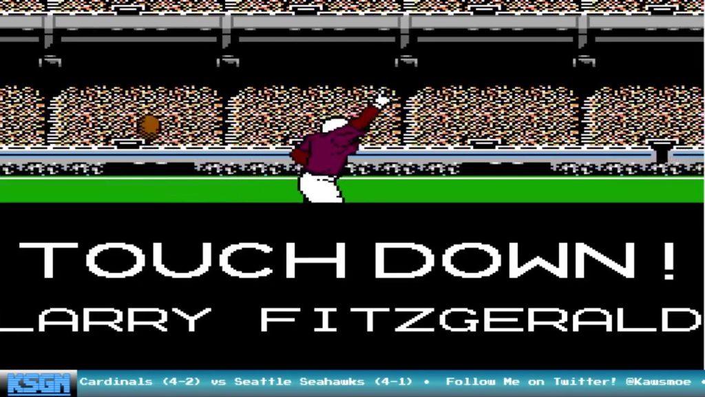 Week 7: Arizona Cardinals vs Seattle Seahawks – Tecmo Super Bowl 2016-17