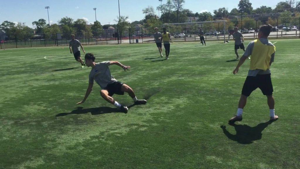 Soccer Finishing Exercises