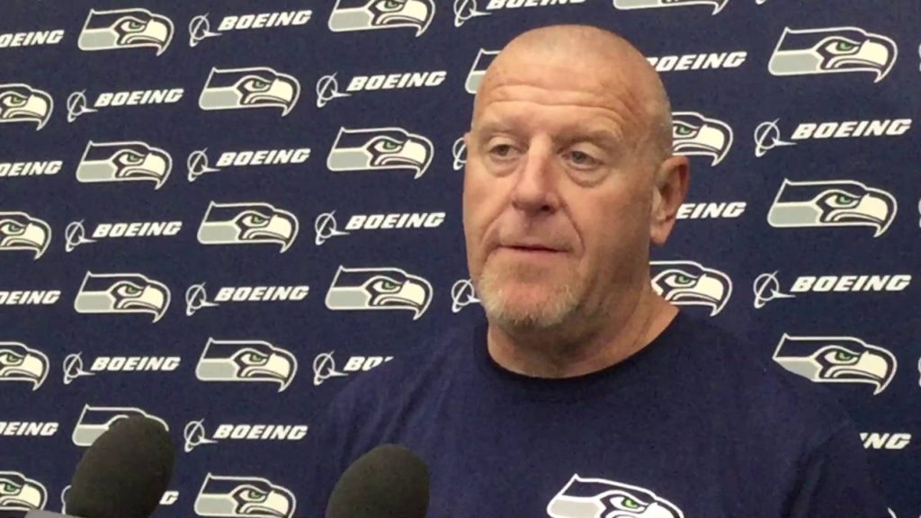 """Line coach Tom Cable on Germain Ifedi: """"very inconsistent""""; Seahawks' test at AZ"""
