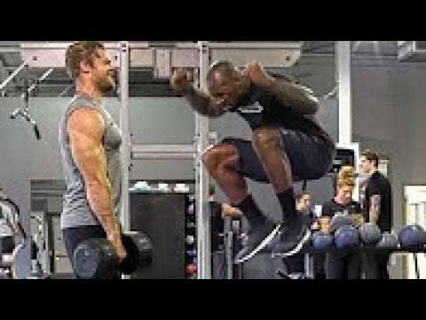 Football – 6 Best Strength Exercises with VERNON DAVIS – Sports Workout