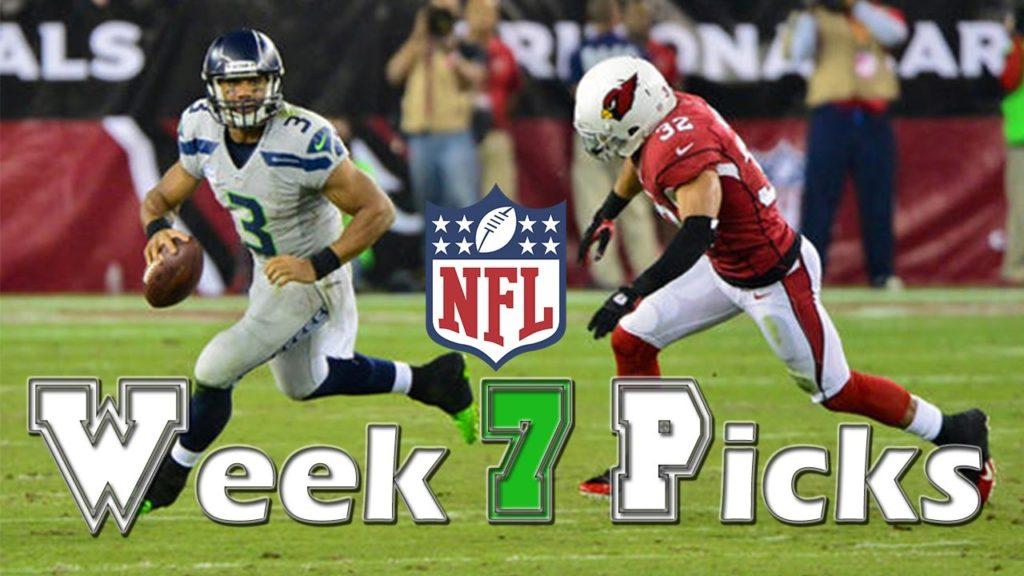 NFL Week 7 Picks and Predictions, Seahawks vs Cardinals, Broncos vs Texans, Chargers vs Falcons