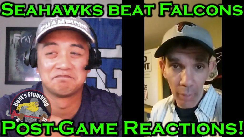 Seahawks defeat Falcons: Post-Game Reactions, NorbCam vs. Falcons Fan