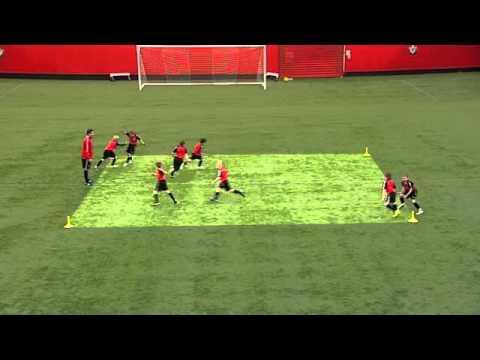 Soccer Drills: Passing & Receiving