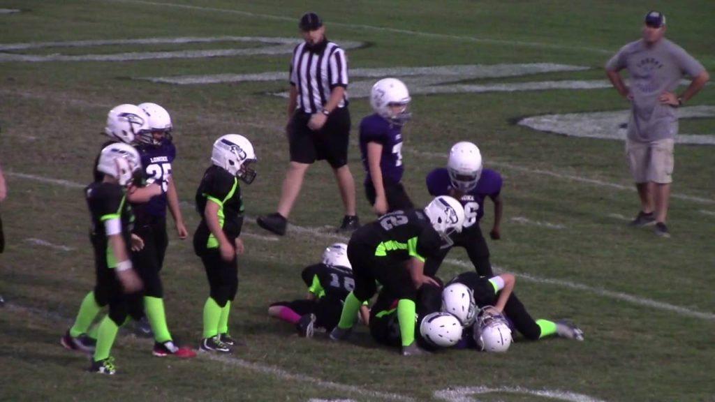 Game 8 10-17-2016 Seahawks vs Lonoke Tie 8-8