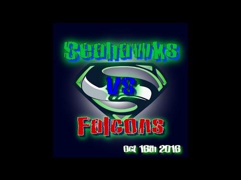 NFL- Week 6   Seahawks vs Falcons   2nd Half   10/16/16   Condensed Game   HendricsTV