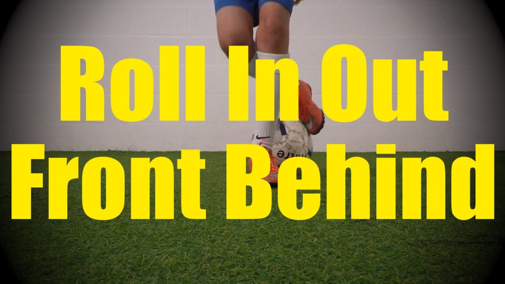 Roll In Out Front Behind – Static Ball Control Drills – Soccer Coerver Training for U10-U11