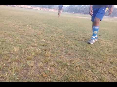 Football Power kick (simple & easiest way to learn)