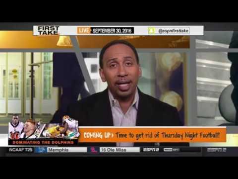 ESPN first take 2016 (18/10/2016) Seattle Seahawks Richard Sherman Rips NFL