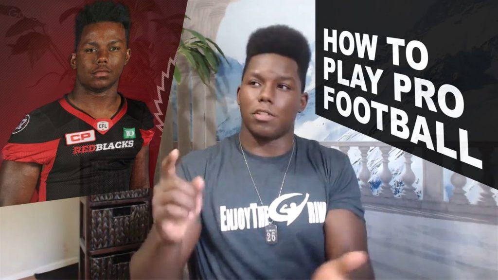 How To Play Pro Football | Engineering, YouTube, Branding | EnjoyTheGrind