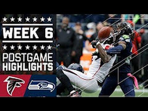 NFL 2016 Falcons vs Seahawks (Week 6) Highlights