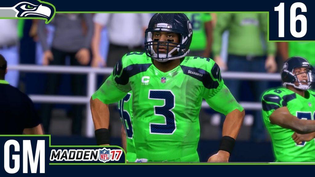 Madden NFL 17 Owner Mode (Seattle Seahawks) [Deutsch/60FPS] #16 Kein Goff?