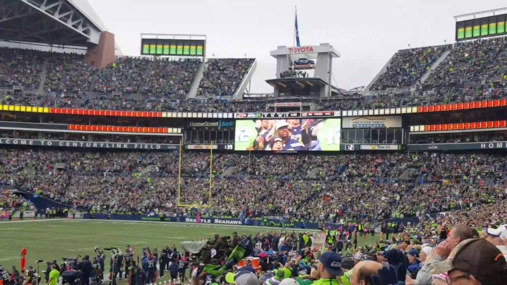 Seahawks Game With Matthew Newman 2016