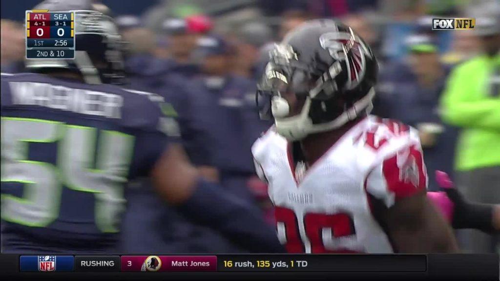NFL 2016 Week 6 Atlanta Falcons & Seattle Seahawks