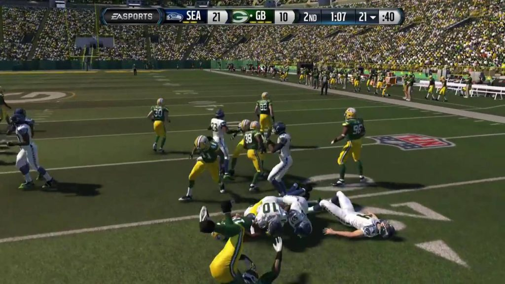 Madden 15 Online Ranked Ep  3 Packers vs  Seahawks Madden Release Day Upon Us