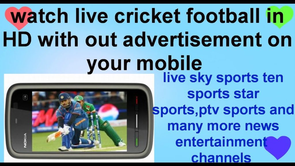 how to watch live cricket football any sport on mobile