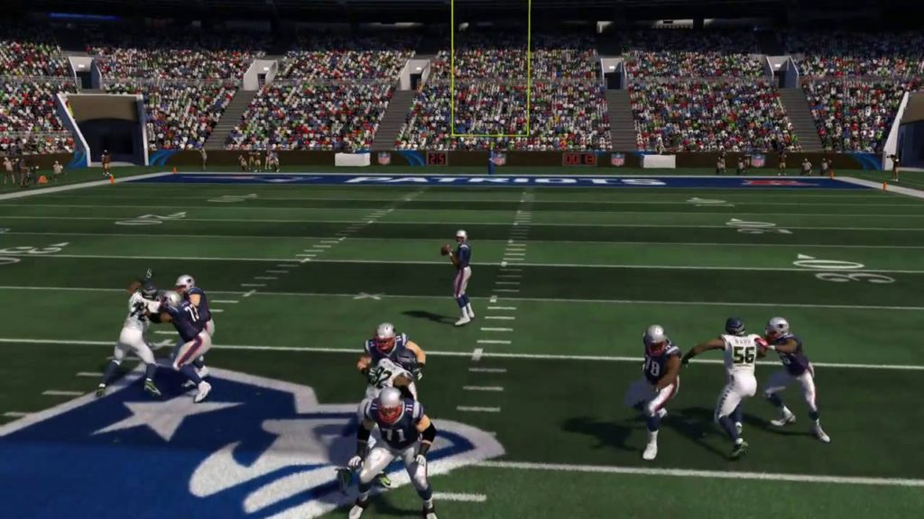 Primetime Hester Beats Double Team vs  All Madden Seahawks Final Long Pass Style Solo