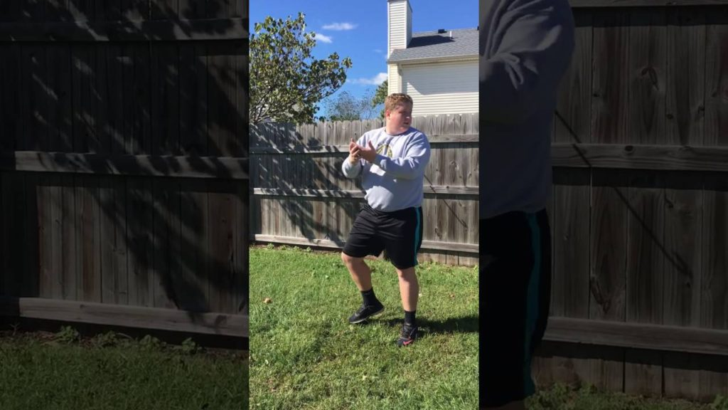 how to play a backyard game of football for CST 100 by cameron hickman