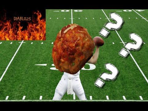 "Meatballs Play Football? -The Louis ""Little"" Meatball Saga Episode 1 (NCAA Football 14)"