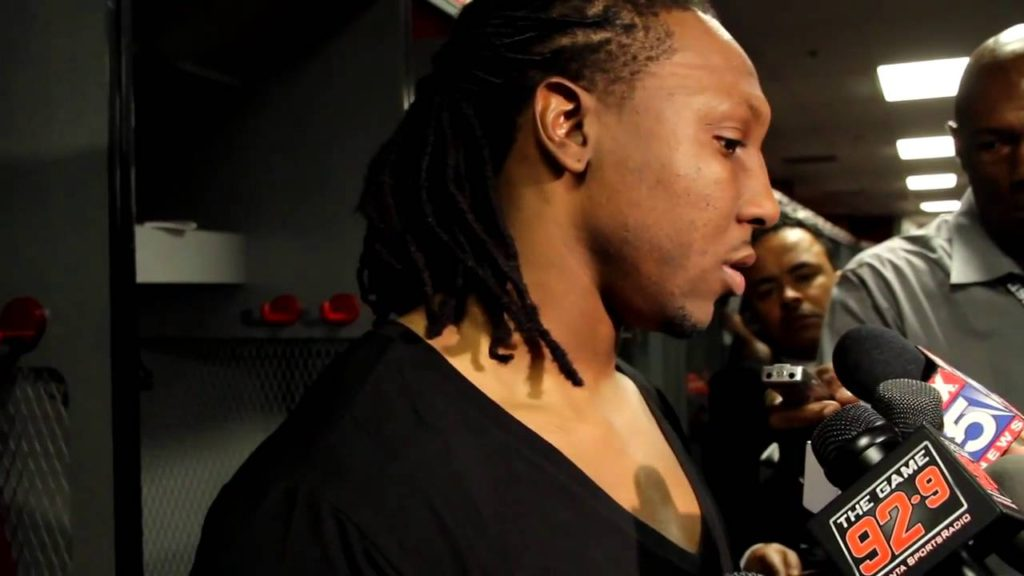 Roddy White Postgame Interview – Falcons vs. Seahawks
